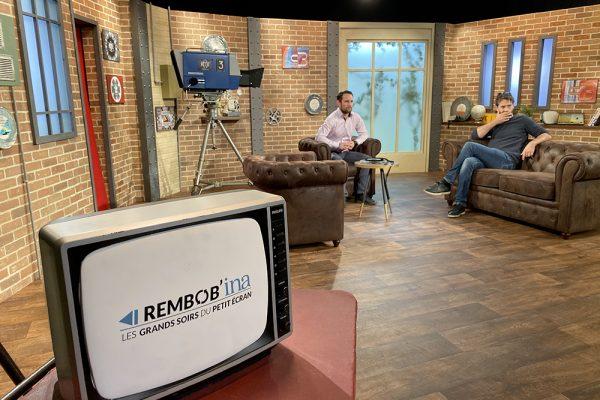 Plateau TV décor réel